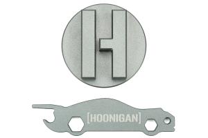 Mishimoto Hoonigan Oil Filler Cap Silver - Subaru Models (inc. 2002+ WRX/STI)