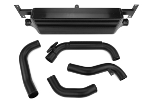 Process West Front Mount Intercooler Kit Black - Subaru WRX 2008-2014