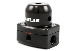 Fuelab Black EFI Adjustable Fuel Pressure Regulator In-Line (Part Number: )