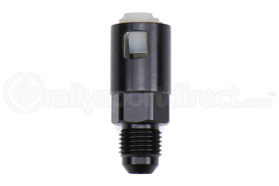 Torque Solution Push-On Quick Disconnect Adapter Fitting 3/8in SAE to -6AN Female - Universal
