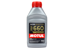 Motul RBF660 Racing DOT 4 Synthetic Brake Fluid 500ml ( Part Number: 101667)