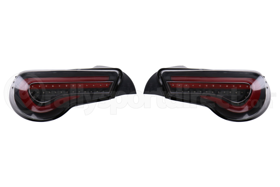 OLM VL Style Sequential Clear Lens Tail Lights - Scion FR-S 2013-2016 / Subaru BRZ 2013+ / Toyota 86 2017+