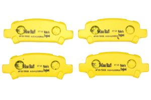 EBC Brakes Yellowstuff Street And Track Rear Brake Pads - Subaru Models (inc. 2002-2003 WRX / 2005-2009 Legacy GT)