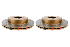 DBA 4000 Series Drilled/Slotted Rotor Pair Rear ( Part Number: 42225XSG)