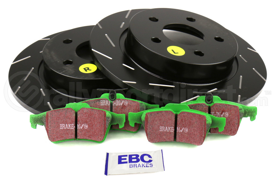 Purchased for a Chevy K HD, along with the matching EBC yellowstuff brake pads. There was no improvement over the factory brakes, and after only 15k miles the rotors are warped and so worn down from the aggressive brake pads that they can't be turned.