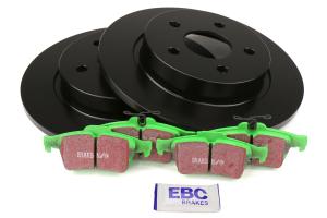 EBC Brakes S11 Rear Brake Kit Greenstuff Pads and RK Rotors - Ford Focus ST 2013+
