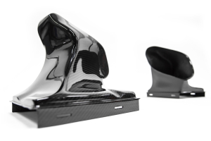 AMS Alpha Intercooler Kit with Carbon Fiber Shrouds - Porsche Models (inc. 2017+ Carrera/Targa)