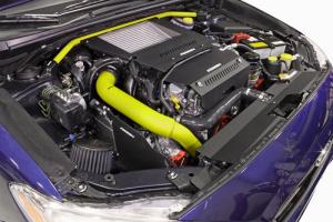 PERRIN Charge Pipe Neon Yellow - Subaru WRX 2015+