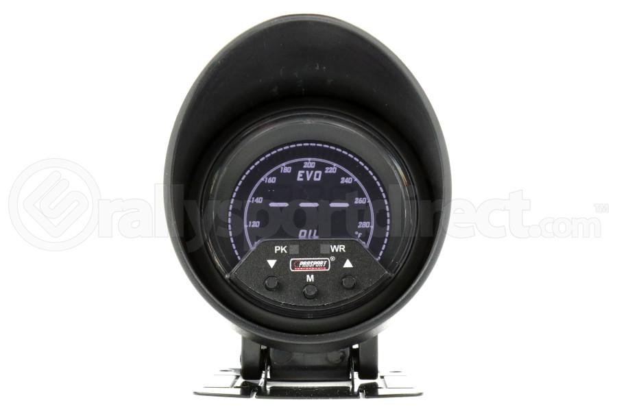 ProSport Premium EVO Oil Temperature Gauge w/Sender Multi Color 60mm (Part Number:238EVOOT-PK.F)