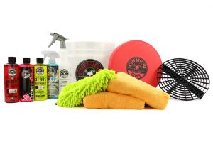 Chemical Guys Best Car Wash Bucket Kit Black (11pc) - Universal