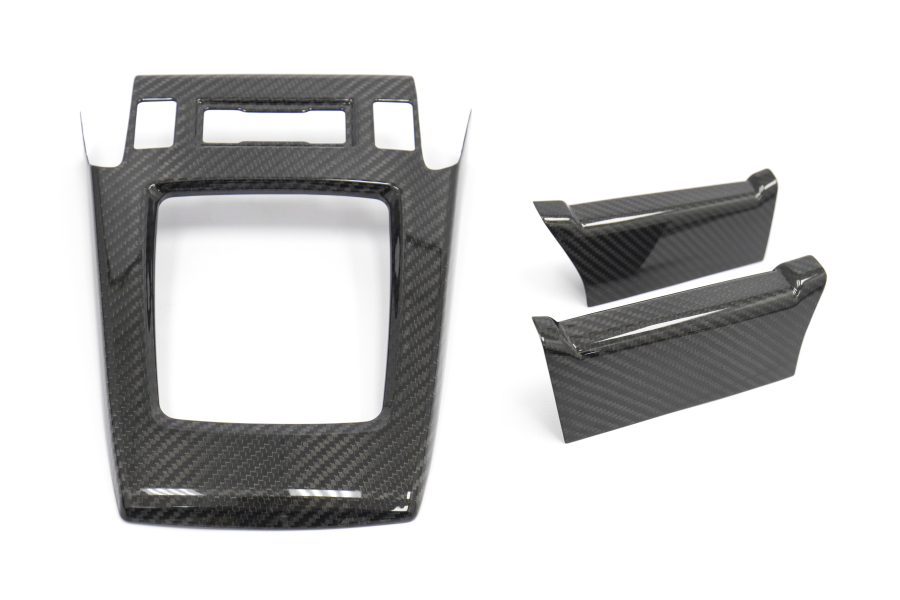 OLM Dry Carbon Shift Cover Set - Subaru Forester 2014-2018