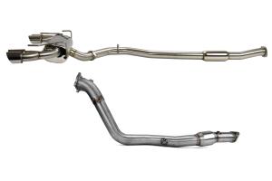 COBB Tuning Turbo Back Exhaust - Subaru STI Hatchback 2008-2014 / WRX Hatchback 2011-2014