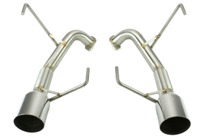 Nameless Performance Axleback Exhaust 4in Single Wall Tips (Part Number: )