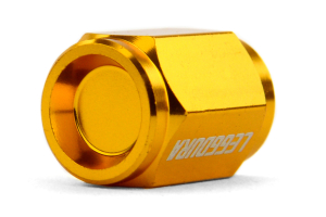 KICS Leggdura Racing Gold Valve Cap ( Part Number:KIC WCKIVA)