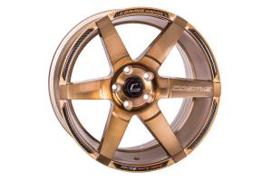 Cosmis Racing Wheels S1 18x9.5 +15 5x114.3 Hyper Bronze - Universal