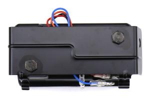 SubiSpeed USDM F1 Style Rear Fog Light Matte Black w/ Clear Lens V2 - Subaru WRX / STI 2015+ / Crosstrek 2013 - 2017