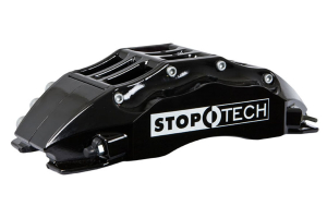Stoptech ST-60 Big Brake Kit Front 355mm Black Zinc Slotted Rotors - Mitsubishi Evo X 2008-2015