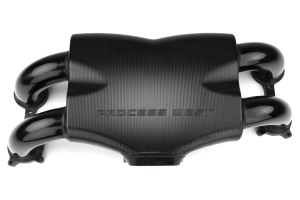 Process West Intake Manifold Track Version Black (Reverse Cable Throttle Position) ( Part Number: PWIM003B)