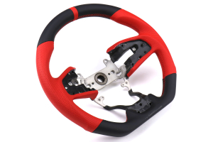 Buddy Club Sport Time Attack Edition Steering Wheel Leather - Honda Civic Models (Inc. 2017+ SI / 2017+ Type R)