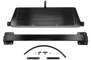 COBB Tuning Front Mount Intercooler Kit Black w/Black Piping - Subaru WRX 2011-2014