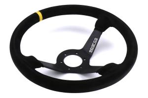 Sparco R 325 Steering Wheel Suede Black - Universal