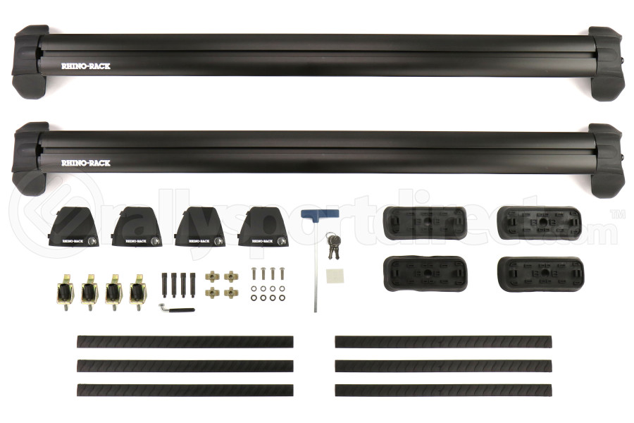 Rhino-Rack Vortex 2500 RS Black 2 Bar Roof Rack - Subaru Forester 2009-2013
