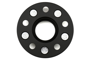 ISC Suspension Wheel Spacers 5x108 15mm Black Pair - Ford Models (inc. 2013+ Focus ST / 2016+ RS)