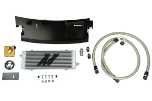 Mishimoto Thermostatic Oil Cooler Kit Silver - Ford Focus RS 2016+