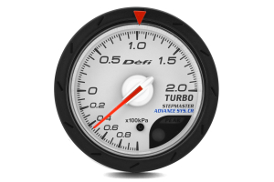 Defi Advanced CR White Faced Boost Gauge Metric 52mm 2 Bar (Part Number: )