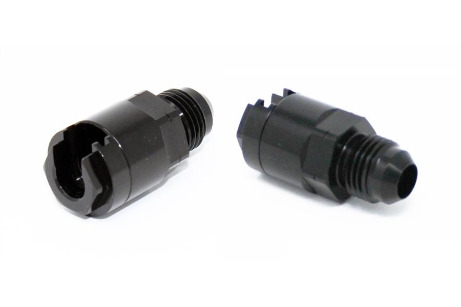 Torque Solution Hard Line Adapter Fittings -6AN/-6AN - Universal