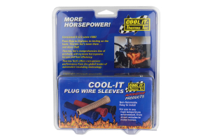 Thermo Tec Cool-It Spark Plug Wire Sleeves 6 Pack Black (Part Number: )