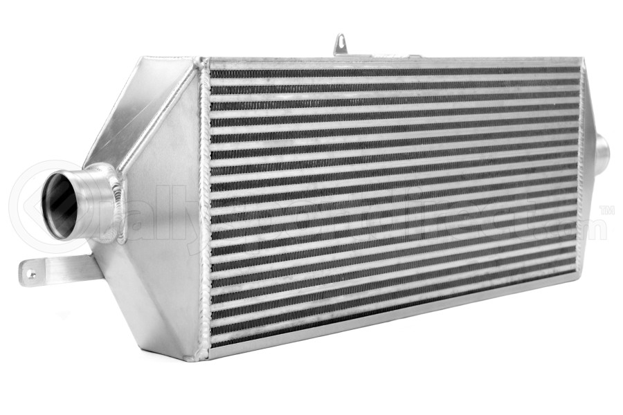 ETS Front Mount Intercooler Black Piping Silver Core (Part Number:100-28WB)