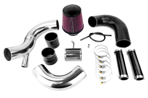 AMS Performance Cold Air Intake Polished w/ Breather Bungs - Mitsubishi Evo X 2008-2015