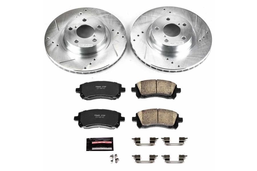 Power Stop Z23 Evolution Coated Brake Kit Front - Subaru Models (inc. 1998-2001 Impreza RS / 1997-2002 Legacy)