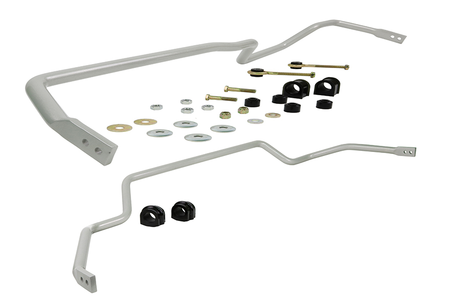 Whiteline Front and Rear Sway Bar Kit 24mm Adjustable JDM Only - Nissan Skyline R32 RWD 1987-1994 JDM ONLY