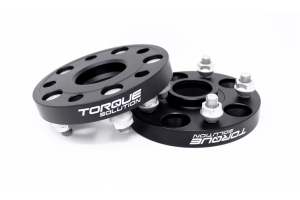 Torque Solution Forged Aluminum Wheel Spacers 5x114.3 25mm Pair - Subaru STI 2005+ / WRX 2015+