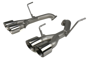 cp-e Austenite Off Road Axle Back Exhaust w/ Polished Tips  - Subaru WRX / STI 2015 - 2020