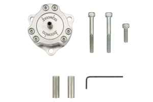 Boomba Racing Fully Adjustable Bypass Valve Natural Aluminum - Ford Focus ST 2013+