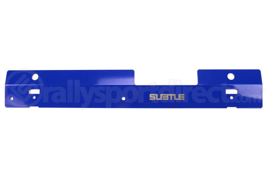 Subtle Solutions Radiator Shroud Blue - Subaru WRX 2002-2007 / STI 2004-2007