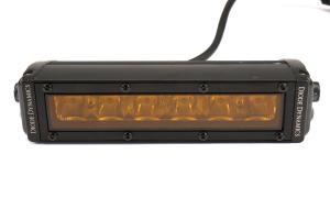 Diode Dynamics SS Amber Driving Optic Stage Series Light Bar Kit - Subaru WRX / STI 2015-2017