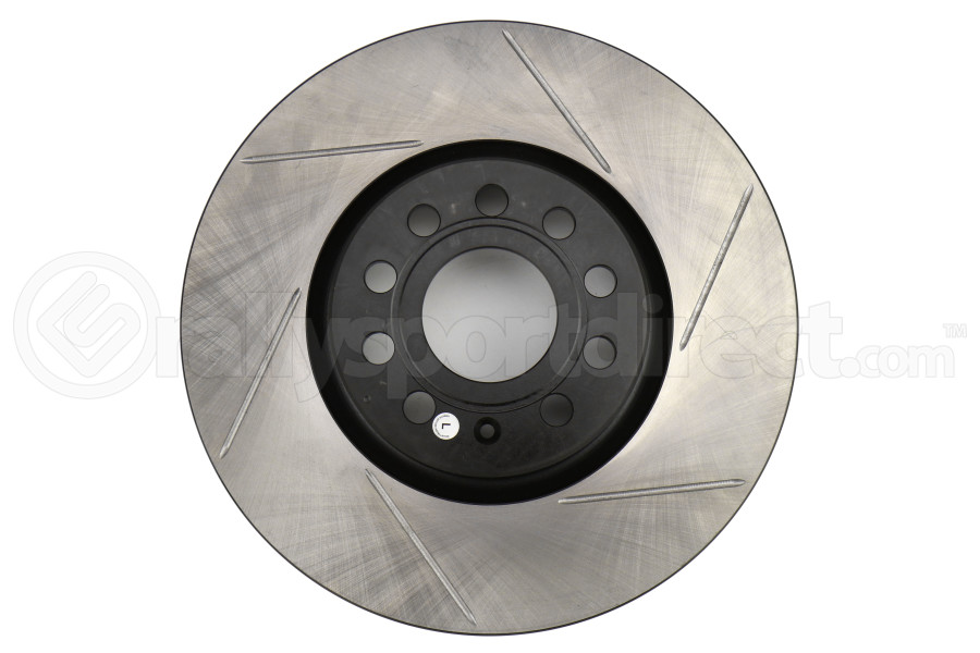 Stoptech Slotted Front Left Rotor Single - Volkswagen GTI Non-PP 2015+
