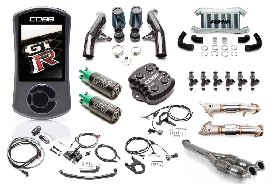 COBB Tuning Stage 3 Carbon Fiber Power Package w/ CAN Gateway and TCM Flashing  - Nissan GT-R 2009-2014