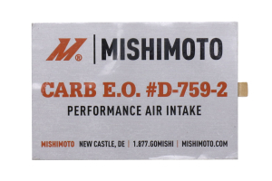 Mishimoto Performance Air Intake Polished - Ford Fiesta ST 2016 - 2019