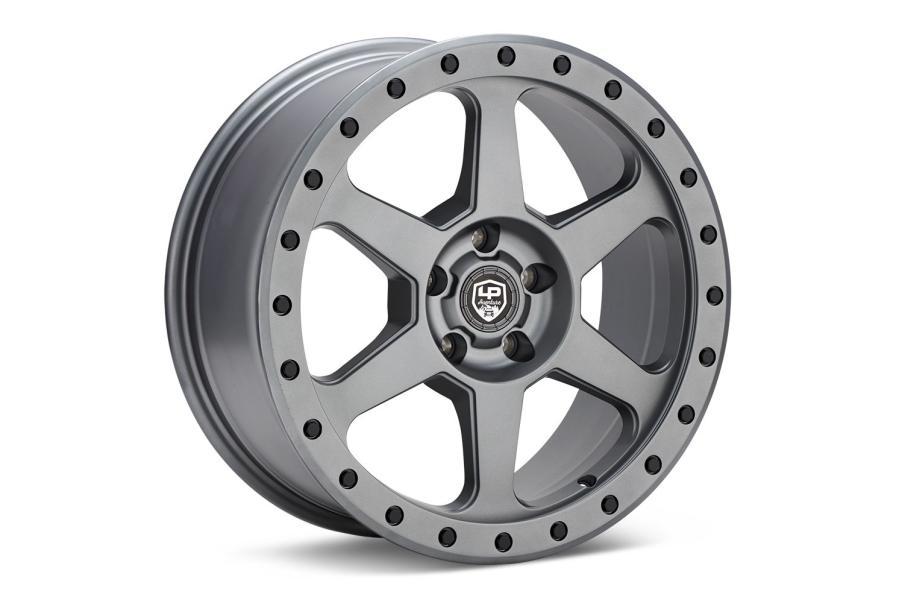 LP Aventure LP3 Wheel 17X8 +45 5x114.3 Matte Grey - Universal