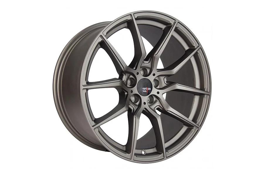 Option Lab Wheels R716 18x9.5 35mm 5x114.3 Noble Grey - Universal