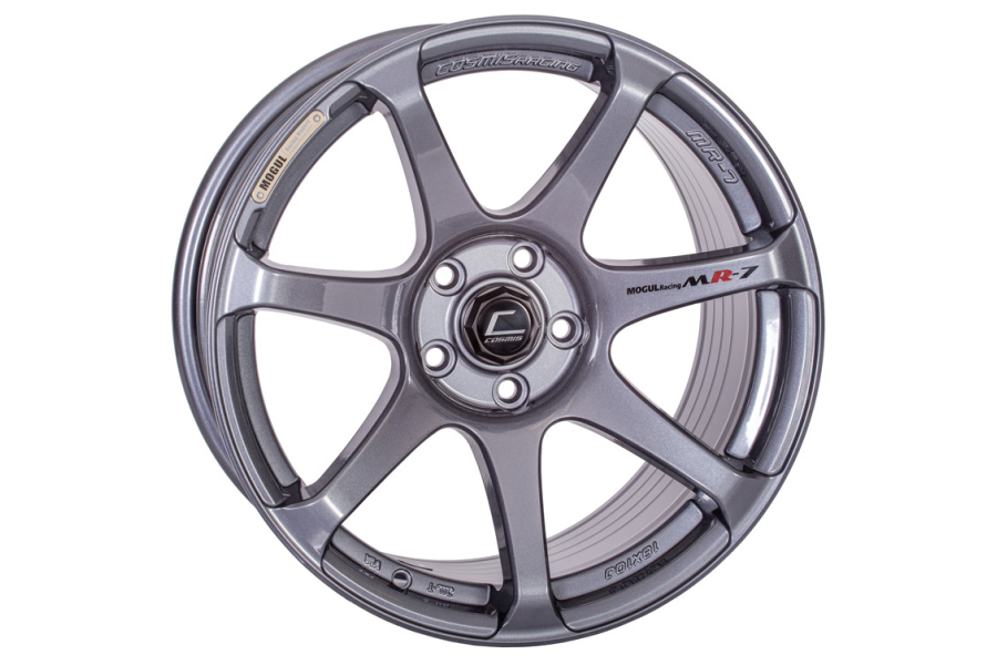 Cosmis Racing Wheels MR7 18x9 +25 5x114.3 Gunmetal - Universal