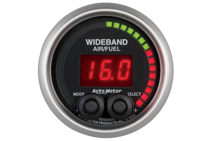 Autometer Elite Wideband Air/Fuel Ratio Gauge Digital 52mm - Universal