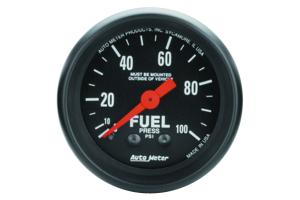 Autometer Z-Series Fuel Pressure Gauge 52mm - Universal