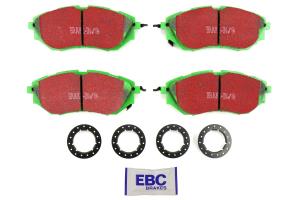 EBC Brakes Greenstuff Front Brake Pads (Part Number: )