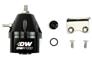 DeatschWerks DWR1000 Adjustable Fuel Pressure Regulator ( Part Number: 6-1000-FRB)